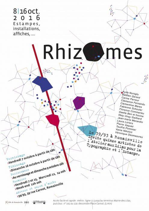 Affiche Rhizomes